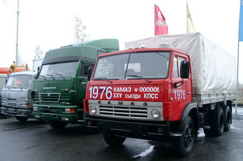 Первый КамАЗ 5320