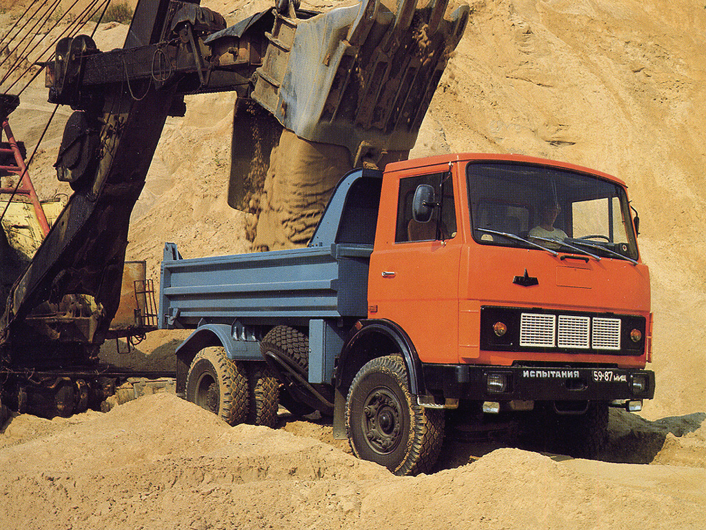 Автолегенды СССР Грузовики №31 МАЗ-5551