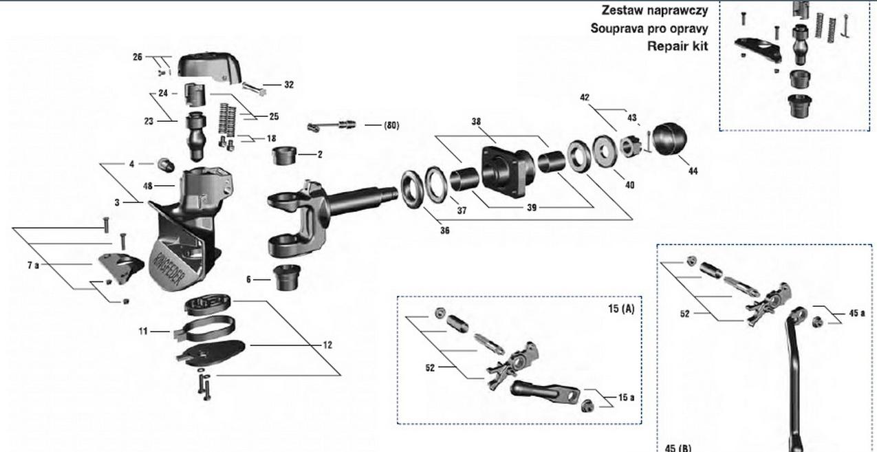 схема фаркопа Ringfeder 5050