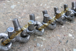 Шипованные цепи на спецтехнику