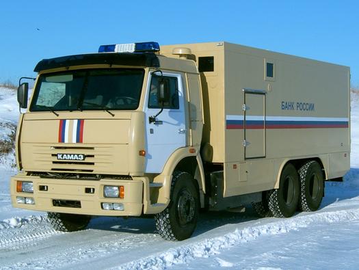 Бронированный автомобиль на базе КамАЗ- 65115