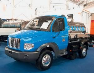 Ермак - капотный грузовик для бездорожья