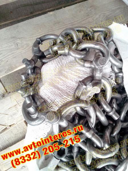Шипованные цепи на погрузчик