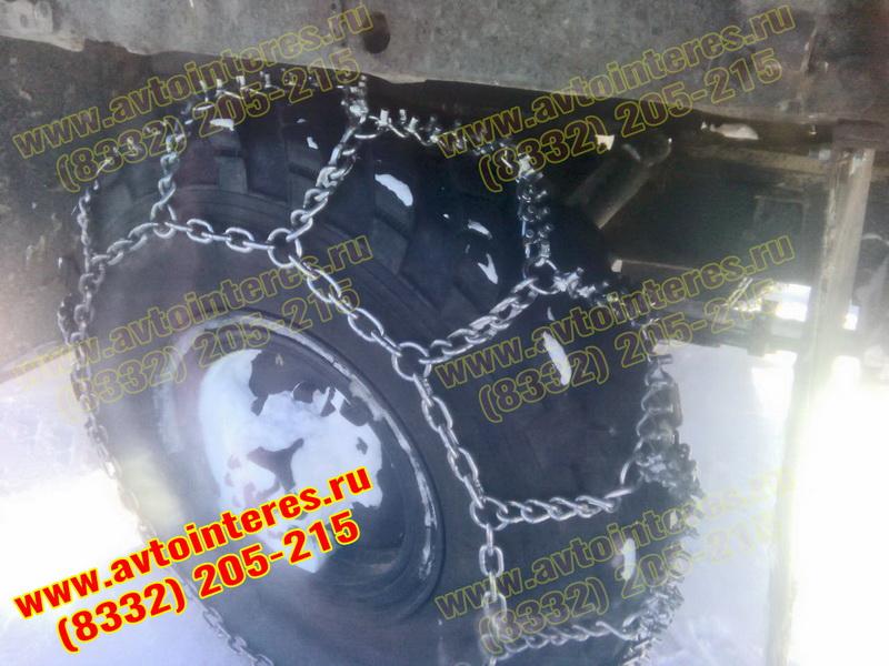 Цепи шипованные на ГАЗ-66